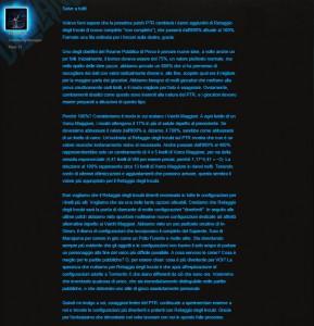 ecco il quote con la spiegazione specifica le ragioni per cui il retaggio degli incubi è stato depotenziato.