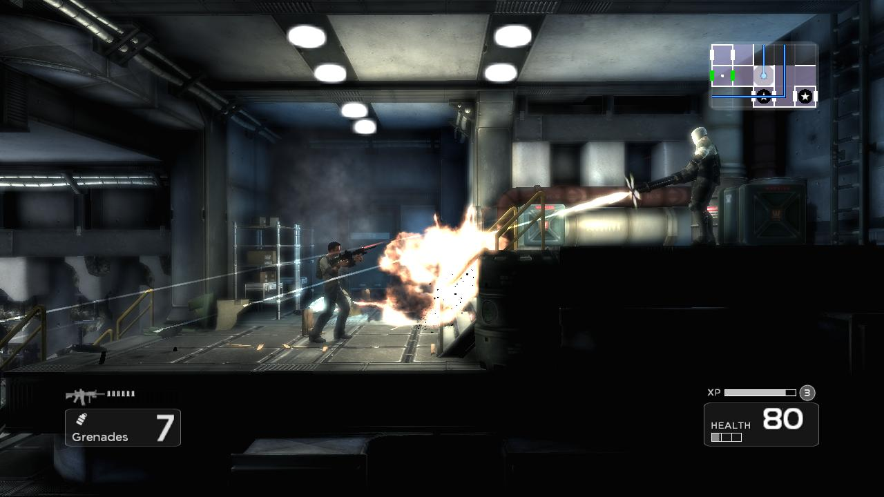 Shadow Complex Remastered su PlayStation 5